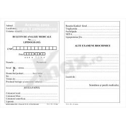 Buletin Analize Medicale Lipidograma 15.3