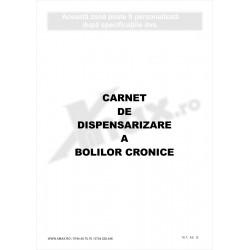 Carnet de Dispensarizare a Bolilor Cronice 18.7 - coperta