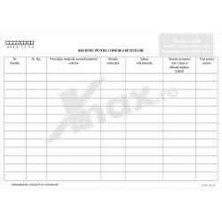Registru pentru Copierea Retetelor 27.25