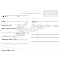 Registru de Consultatii si Tratamente Antirabice 27.34