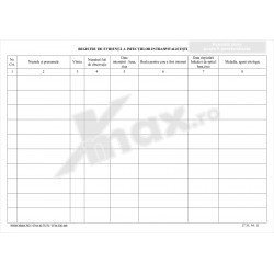 Registru de Evidenta a Infectiilor Intraspitalicesti 27.35