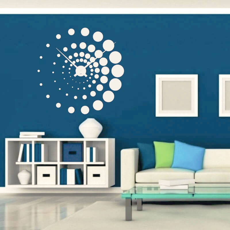 Sticker perete Ceas decorativ - Cod w001