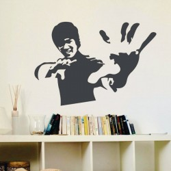 Sticker perete Bruce Lee - Cod w005