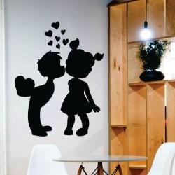 Sticker perete Copii pupaciosi - Cod w009