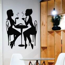 Sticker perete La cafea - Cod w021