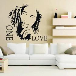 Sticker perete Bob Marley - Cod w045