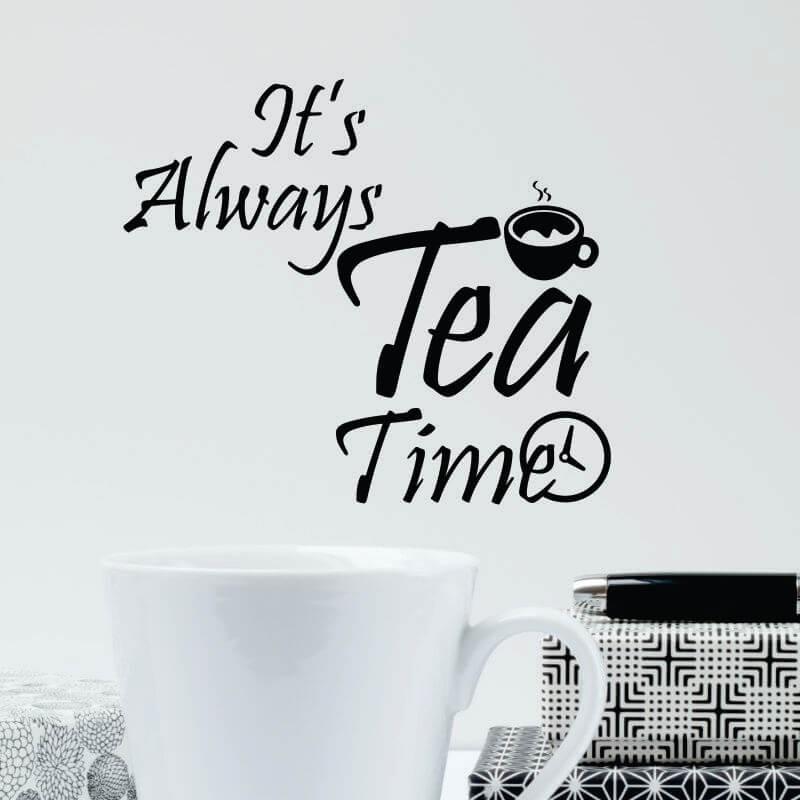 Sticker perete Tea time - Cod w062