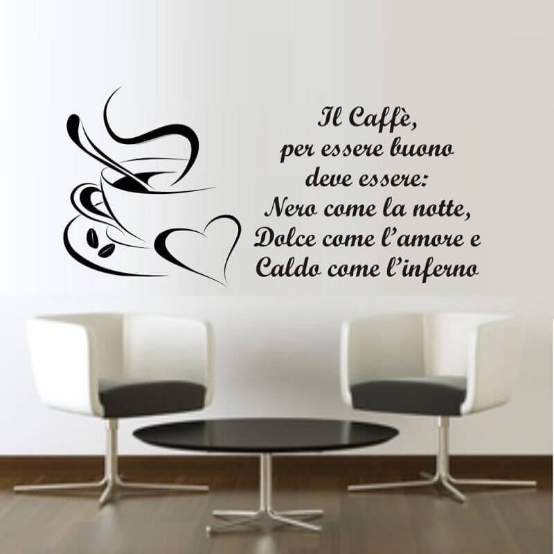 Sticker perete Cafea - Cod w078
