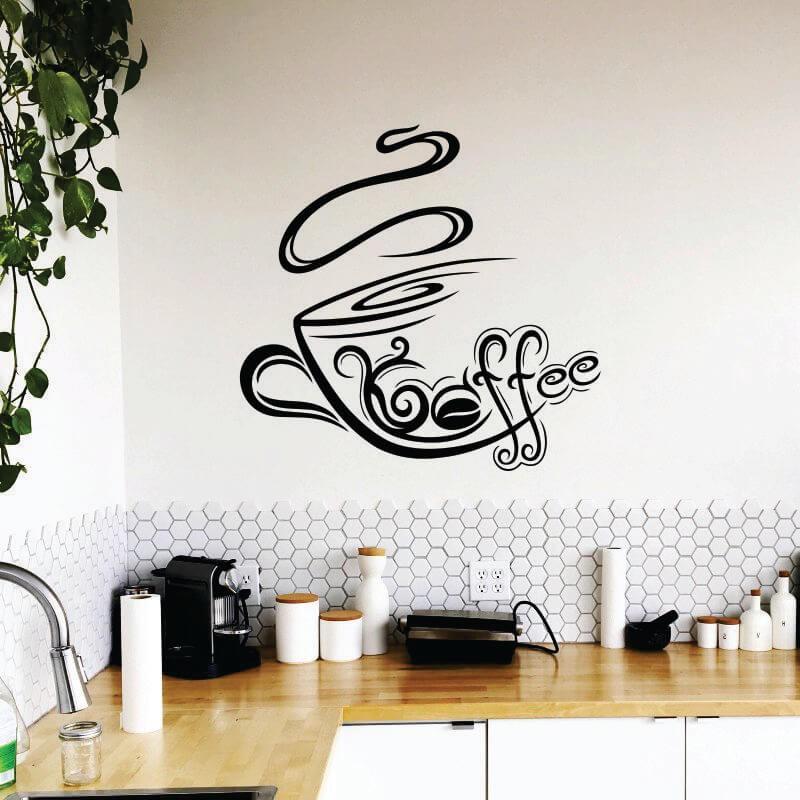 Sticker perete Coffee - Cod w094