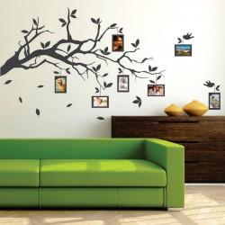 Sticker perete Ramura cu rame foto - Cod w099